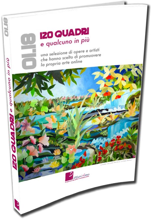 """Pubblicazione sul catalogo """"120 quadri e qualcuno in più"""""""