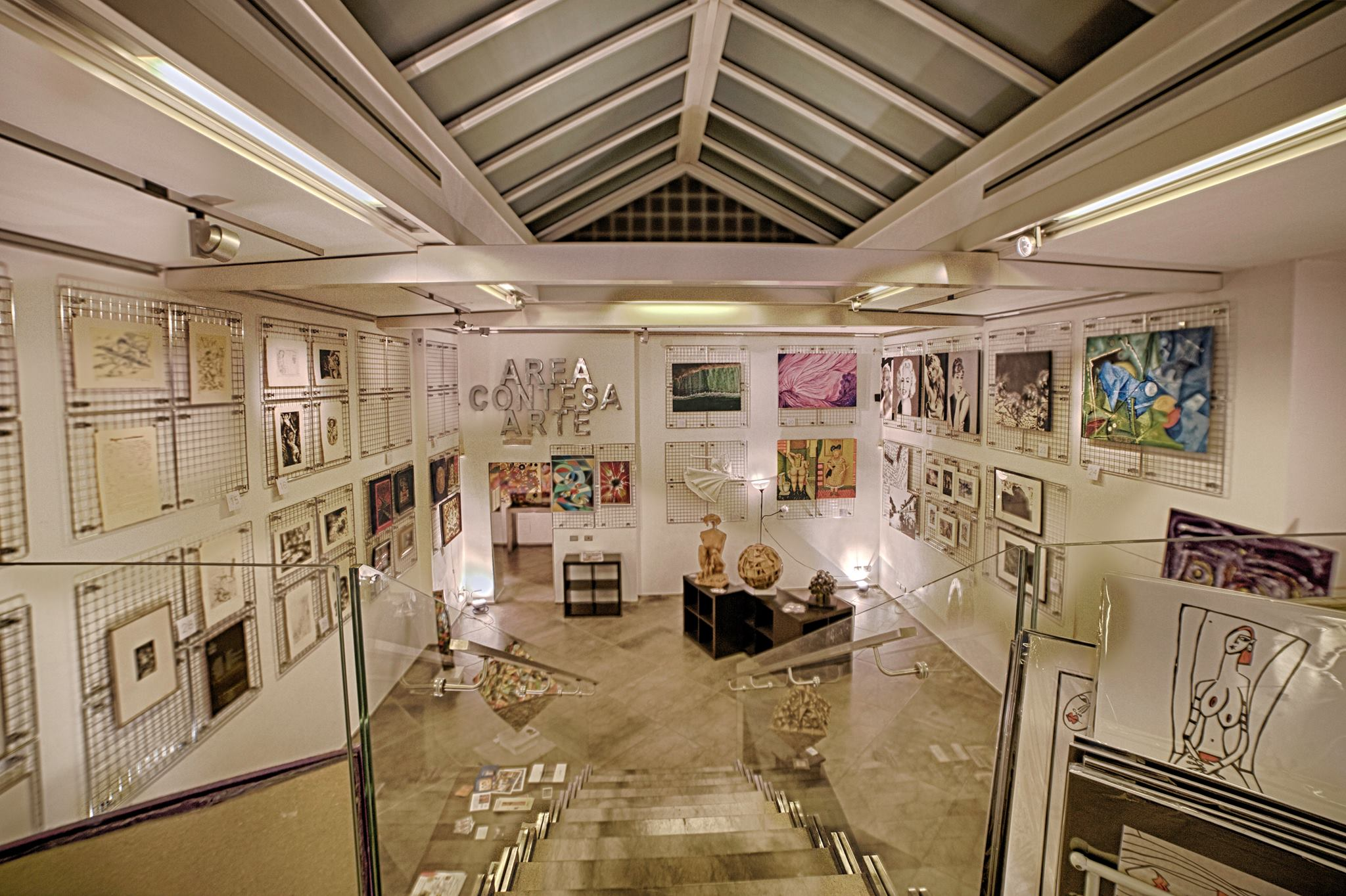 Area Contesa Arte - Galleria d'arte in via Margutta - Roma