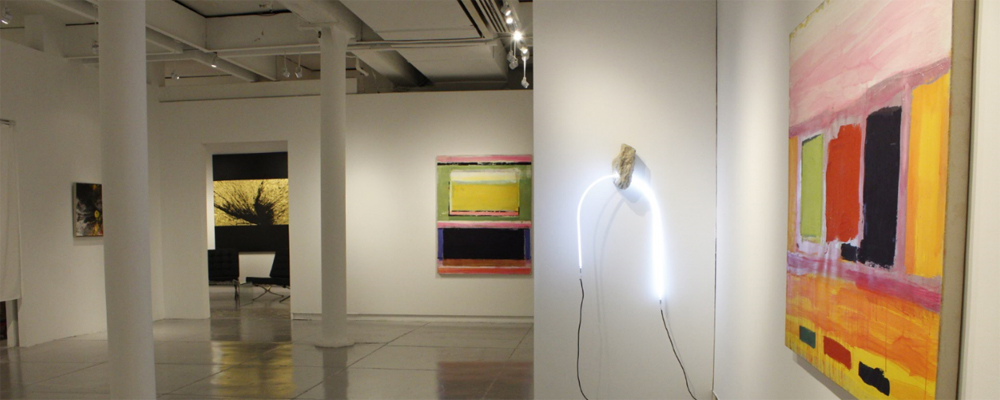 Esposizione d'arte presso la Agora Gallery - White Space Chelsea - New York
