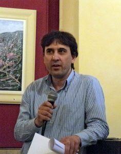 critico d'arte Antonio Castellana