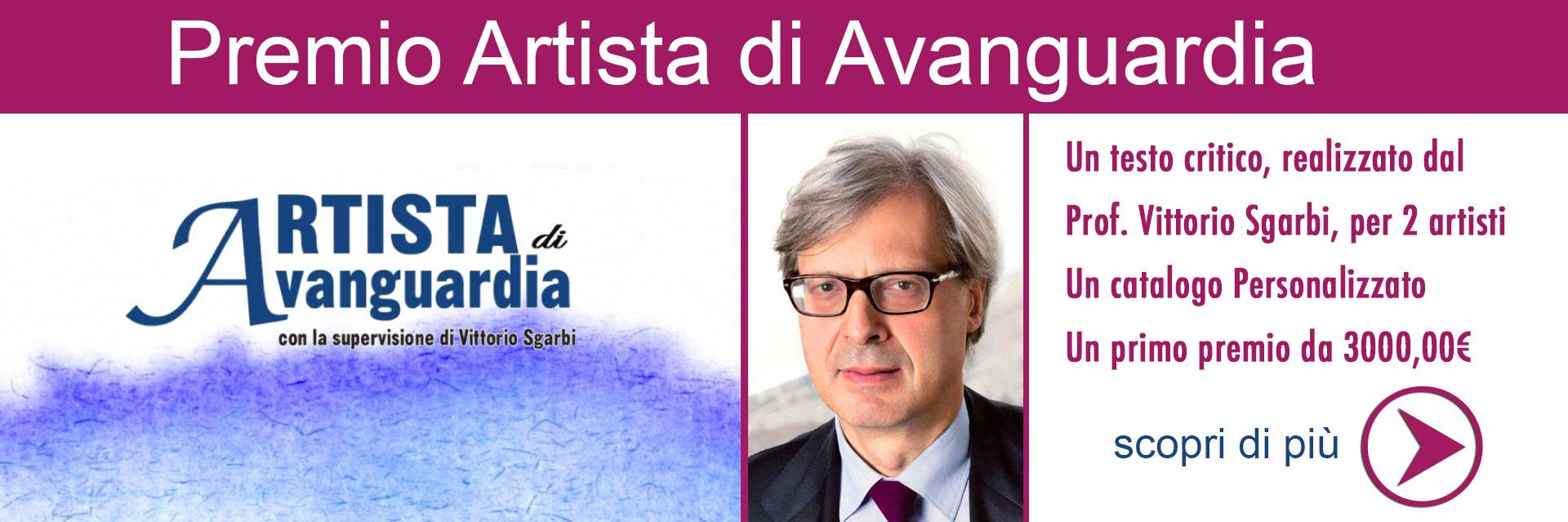 Ottieni una critica alla tua arte da Vittorio Sgarbi