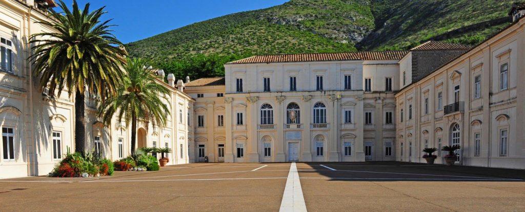 Il Belvedere di San Leucio di Caserta dove si terrà la Biennale d'arte contemporanea