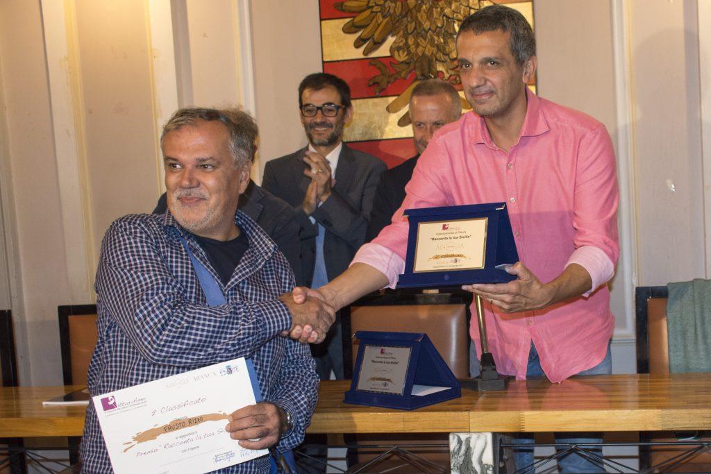 Un momento della cerimonia di premiazione