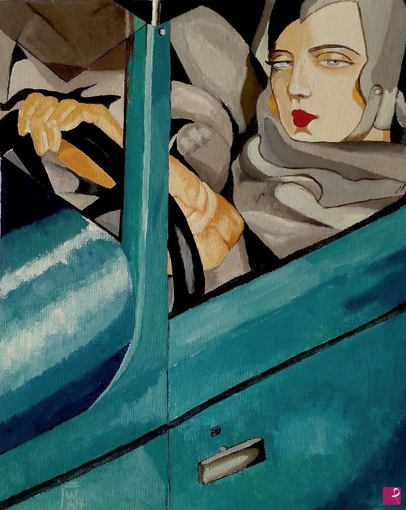 Falso d'autore-Autoritratto di Tamara de Lempicka