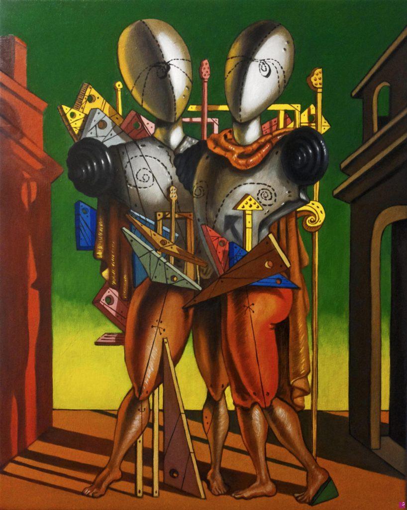 Falso d'autore realizzato dal pittore contemporaneo Diego Atzori