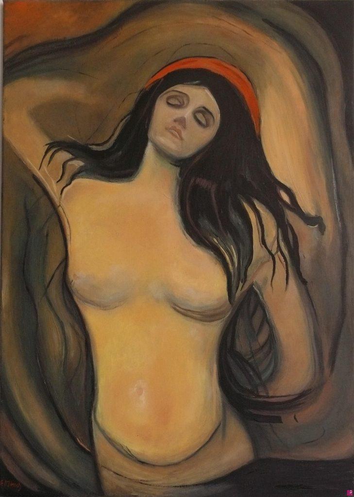 Falso d'autore della pittrice contemporanea Francesca Rosati