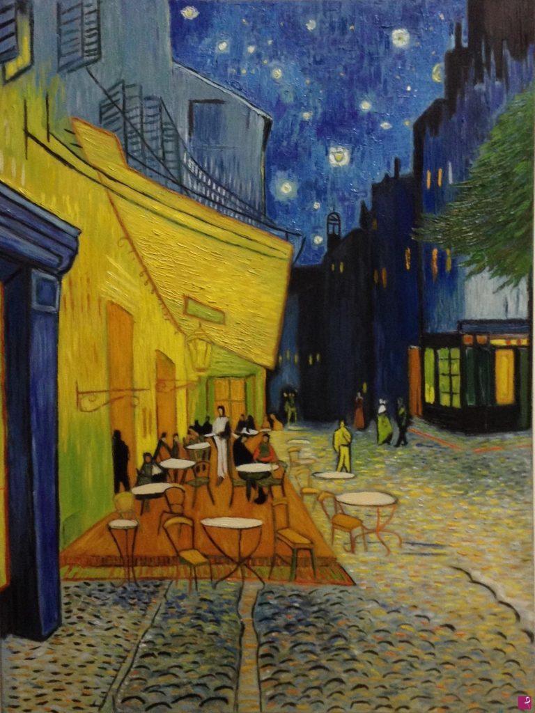Terrazza Del Caffè Di Vincent Van Gogh Pitturiamo Magazine