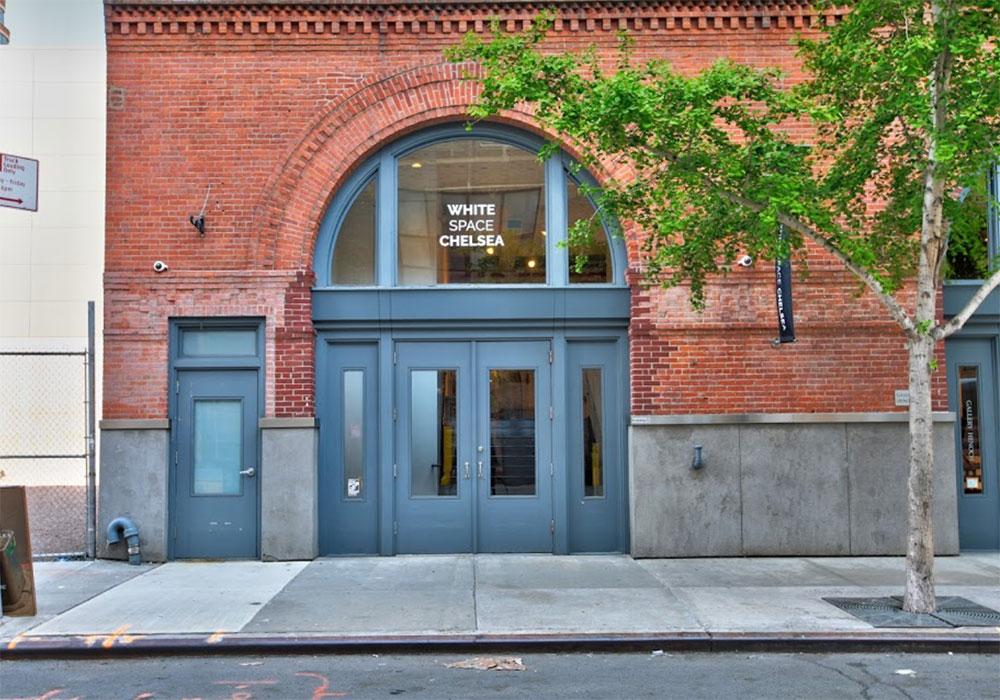 Esterni della Galleria White Space Chelsea di New York