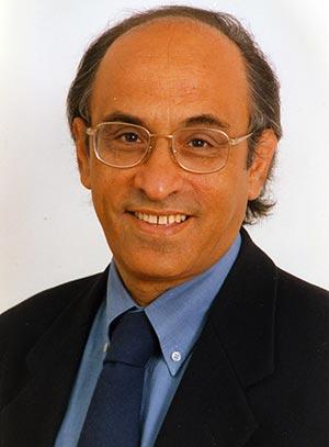 Paolo Nifosì - Storico dell'arte e presidente di giuria durante l'estemporanea di pittura a Grammichele (Catania), in Sicilia
