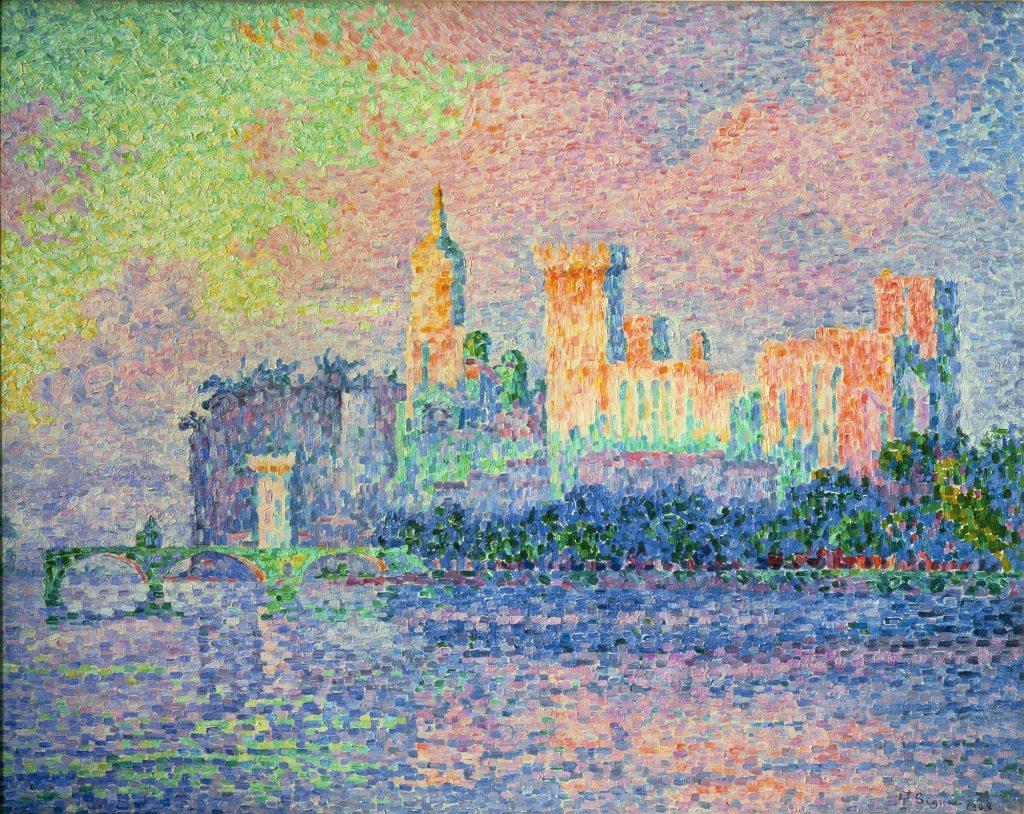 Paul Signac dipinto del post impressionismo