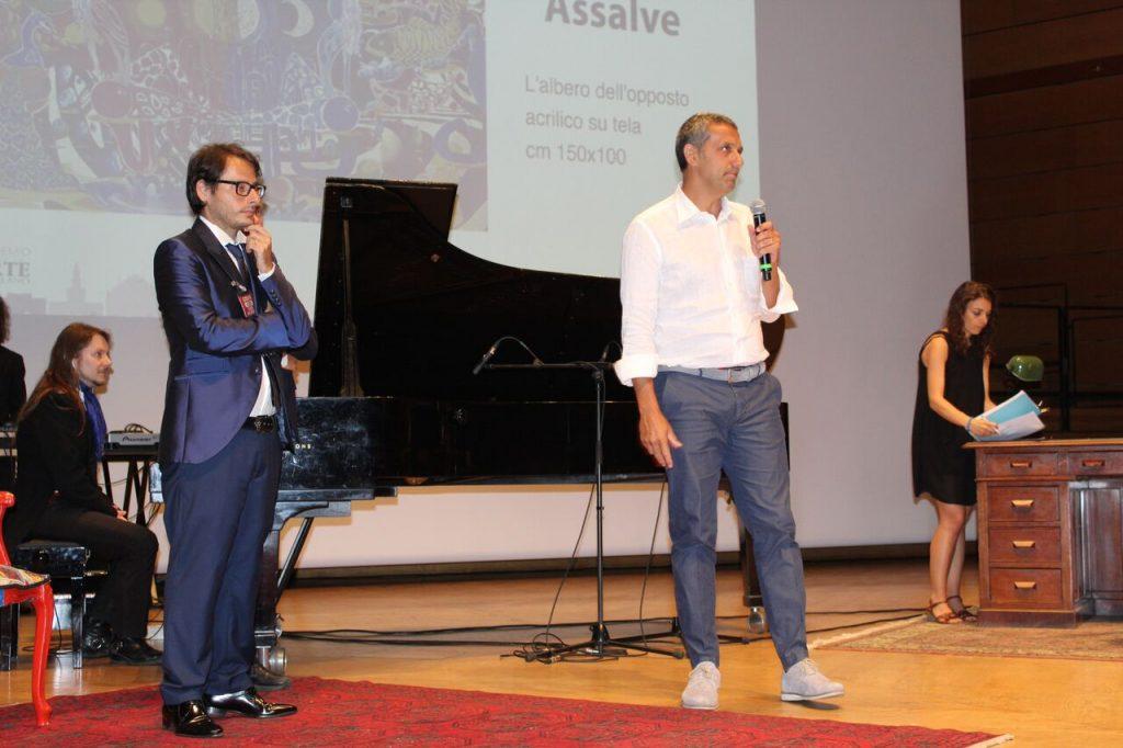 Nino Argentati (PitturiAmo) PitturiAmo al Premio Arte Milano