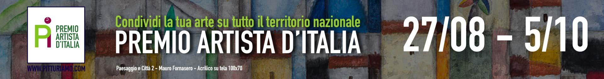 Partecipa al premioArtista d'Italia