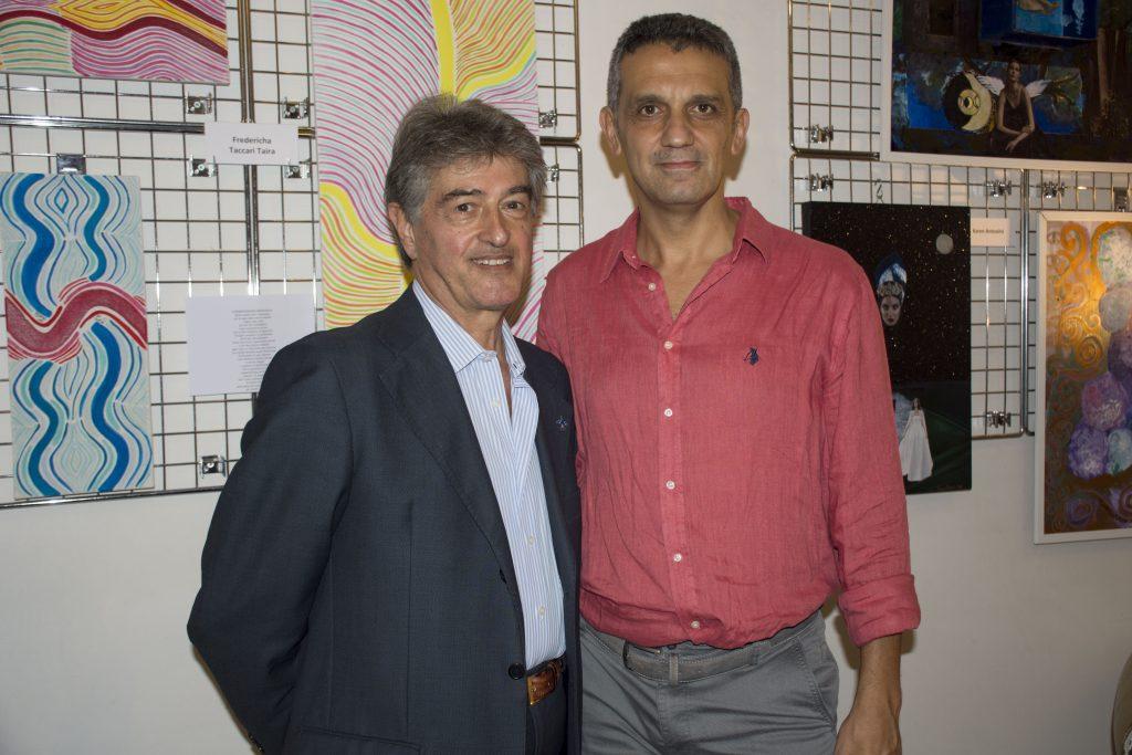 La mostra collettiva di pittori è stata organizzata da Nino Argentati e Mario Salvo