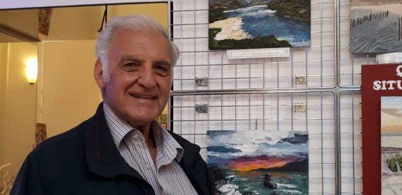 Riccardo Vasdeki in esposizione in via Margutta: un famoso ed importante luogo d'arte diventa culla dei Quadri Situazionali, nuova tipologia di quadri.