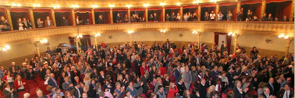 Il pubblico del Teatro Biondo - Palermo