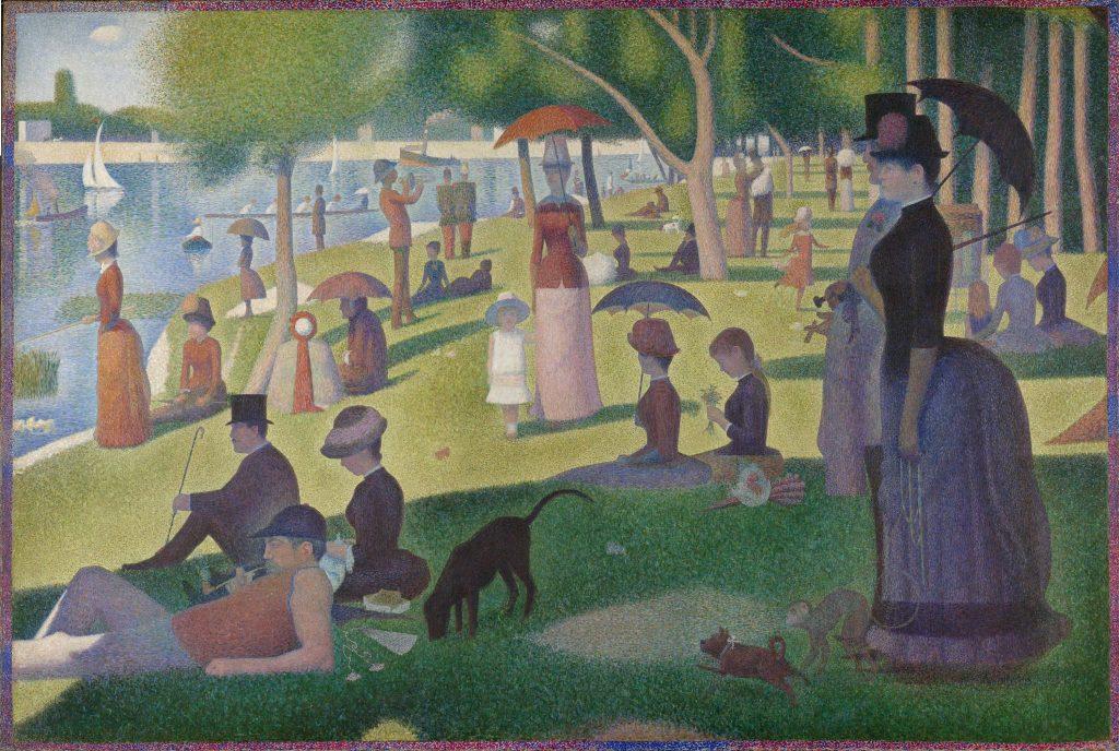quadro post impressionista Georges Seurat