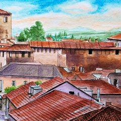Il sito personale del pittore Vittorio Vallarin, in arte Cusin