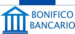Si accettano pagamenti con bonifico bancario