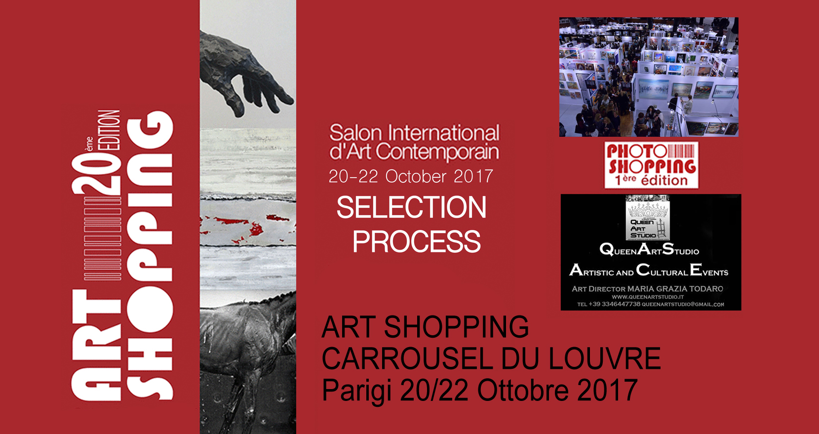 Art Shopping 20° Edizione al Carrousel du Louvre di Parigi - Selection process
