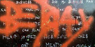 Lo Street Artist Riccardo Ruzza, in arte Rich 26art
