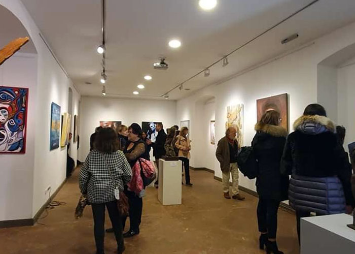sale espositive galleria Pinter Budapest