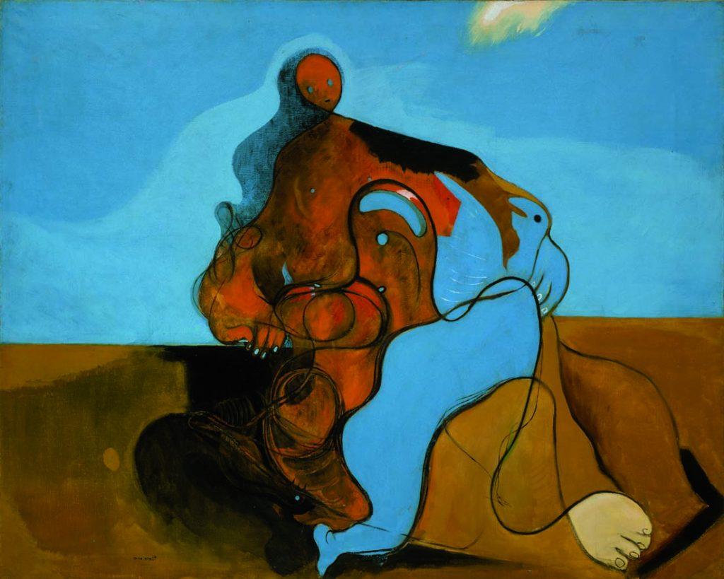 Surrealismo, Il Bacio di Max Ernst