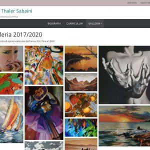 Il sito web dell'artista Carla Thaler Sabaini - Galleria di quadri