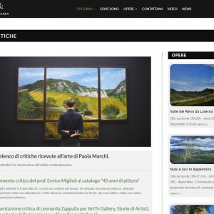 Critiche - Paola Marchi sitoweb