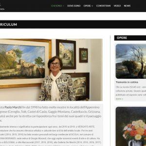 Curriculum - Paola Marchi sitoweb
