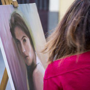 opere d'arte in piazza Carafa a Grammichele