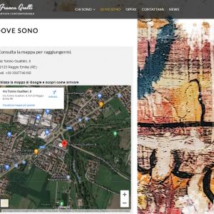 Il sito web dell'artista Franca Grulli - Dove sono