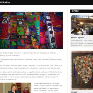 Patrizia Manzini - Il sito della pittrice è online - Biografia