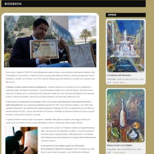 Nuovo sito dell'artista Patrizio Arabito - Biografia