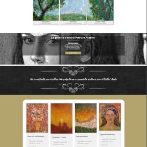 Nuovo sito dell'artista Patrizio Arabito - Homepage