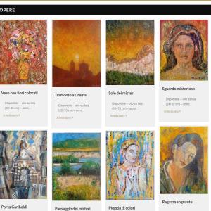 Nuovo sito dell'artista Patrizio Arabito - Opere