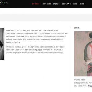 Sito della pittrice Rosalind Keith - Chi sono