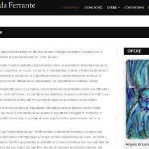 Sito per l'artista Ermenegilda Ferrante - Curriculum
