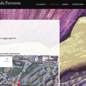Sito per l'artista Ermenegilda Ferrante - Dove Sono