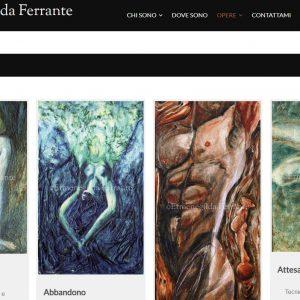 Sito per l'artista Ermenegilda Ferrante - Opere
