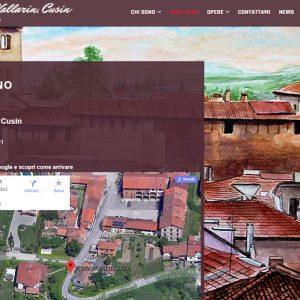 Il sito personale del pittore Vittorio Vallarin, in arte Cusin - Dove sono