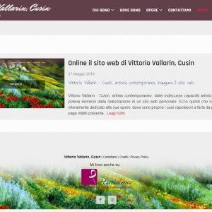 Il sito personale del pittore Vittorio Vallarin, in arte Cusin - News