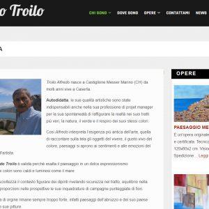 Il sito di pittura di Alfredo Troilo - Biografia