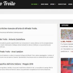 Il sito di pittura di Alfredo Troilo - Critiche