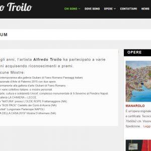 Il sito di pittura di Alfredo Troilo - Curriculum