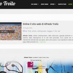 Il sito di pittura di Alfredo Troilo - News