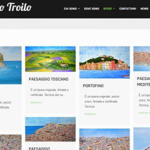 Il sito di pittura di Alfredo Troilo - Opere