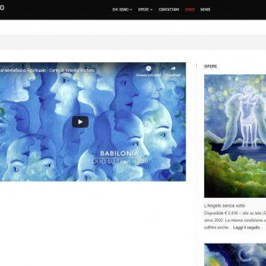 Il sito personale dell'artista Amelia Romeo - Video