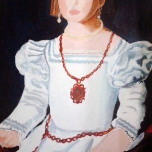 Bia dei Medici - Pittura ad olio - 50x70cm