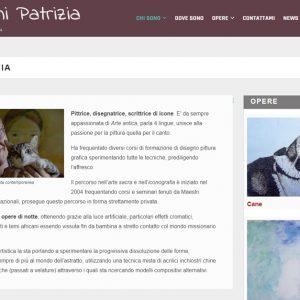 Patrizia Biagini - Il sito della pittrice è online - Biografia
