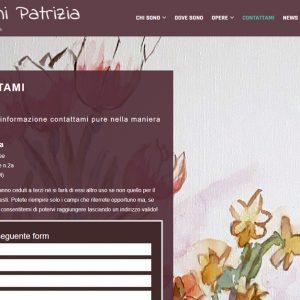 Patrizia Biagini - Il sito della pittrice è online - Contattami